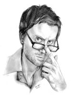 Stephen Merchant - Pencil by incongruousinquiry