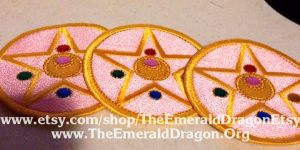 Sailor Moon Sailormoon Embroidered Patches by Aliora9of9