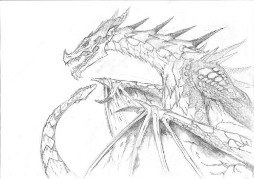 Dovah - Dragon by imposto