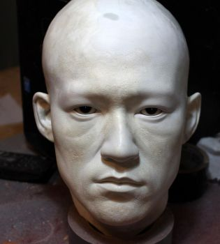 Lifesize Bruce Lee bust COMING SOON by godaiking
