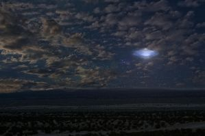 Desert Night Sky by Robby-Robert