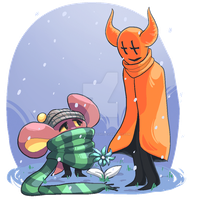 UNDERTALE - Snowdin residents by Chocolatewoosh