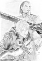 Nero and Credo by skarlet170