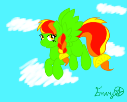 Citrus themed pony adopt for points by EnvyXtheXPalmXTree