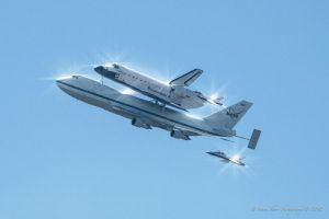 Space Shuttle Endeavor Flyover 9 by Mac-Wiz