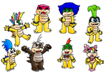 RQ- the koopa kids by Peach-X-Yoshi