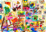 Colorful Butterflies by Milchiah