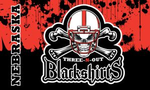 Blackshirts-flag-blood by vectorgeek