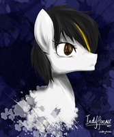 MLP - Indifference Headshot by CindryTuna