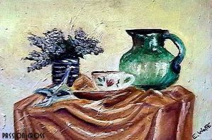 green pitcher by passion-cross