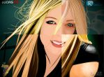 Avril Lavigne Vector Group by isisgabler