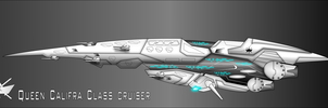 Adamu Arms LMF-70c Califra class Cruiser by capriceklasik