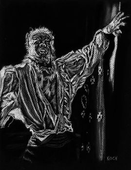 Oliver Reed/CURSE OF THE WEREWOLF by Roger Koch by tabongafan