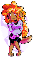Chubby Doggy by Myeecez