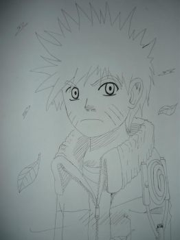 A very shady drawing of Naruto by Rolsification