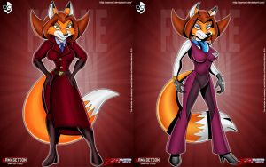 Zooper_Bad guys_FoxaneVixen by XAMOEL