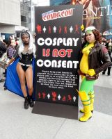Cosplay is Not Consent by TheSpazOutLoud