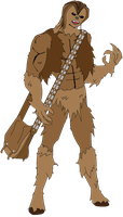 Anime Chewbacca by roymanfredi