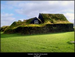 views from Iceland - home by JoannaGebka