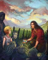 Galleries of Stone / A New Servant by Art-Calavera