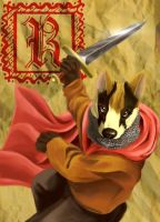 Redwall Badger by Keto-Galin