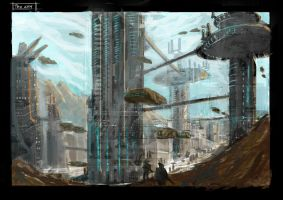 Tau city by artofrussell