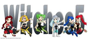 Chibi Witches 5 by ArthurT2015