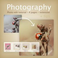 Photography edit tutorial II by lieveheersbeestje