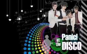 Panic at the Disco Wallpaper by xogymnast4everx3
