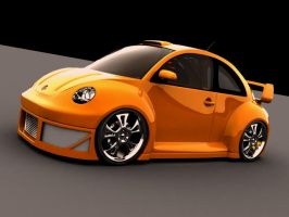 Vw beetle street racer by ajpennypacker
