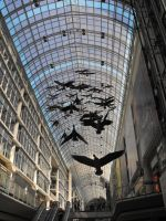 Toronto Eaton Centre birds by Lady-Lilith0666