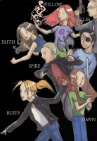 BUFFY THE VAMPIRE SLAYER by StephenRong