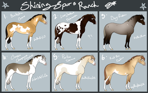 Horses for Spur by Dakaree
