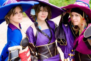 FF X-2: Black Mages by chibinis-chan