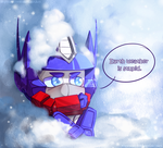 Optimus Does not Like the Cold by skyrore1999