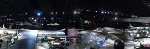 Air Force Museum Panoramic by Blue-Storm-Spirit