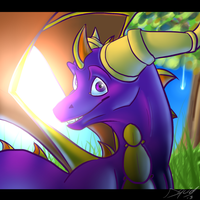 Spyro by Squidub