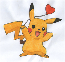 Pikachu loves you all by twilightlinkjh