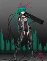 Miku - GOD SLAYING MACHINE by nattissa