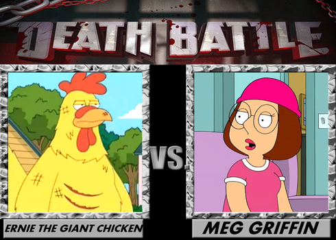 Death Battle, Eirnie the Chicken VS Meg Griffin by 4xEyes1987