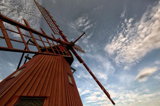 The old Windmill by luethy