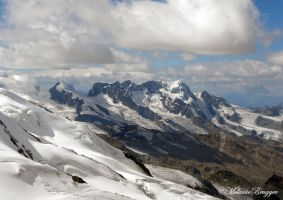 Castor, Pollux and Breithorn by belette46