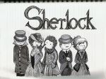 Sherlock Buddies by TheEvanescenceBegins
