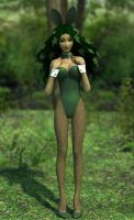 Dryad Bunny by shadowblade316