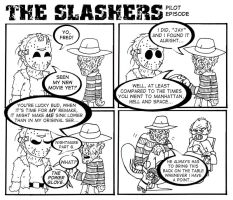 The Slashers Pilot by crashdummie