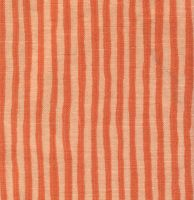 Orange striped fabric by kageroyal-stock