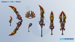 Weapons Set v36 for Metin2 by BombWork-Studio