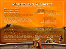 Motherload Unlimited startpage by sethness