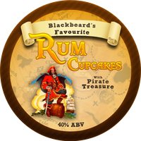 Rum Cupcakes (Talk like a pirate day) by Echilon