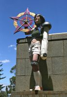 Yuffie: The sky's the limit by rallamajoop